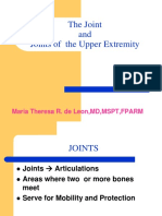 Joints of the Upper Extremity