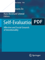 Ziv, Lehrer, Schmid (Eds.) (2011) - Self-Evaluation. Affective and Social Grounds of Intentionality
