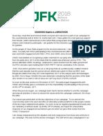 Jfk2018 - Changing Nigeria is a Marathon