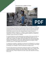 Consecuencias Por El Conflicto en Yemen