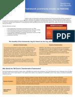 Solution Frameworks Datasheet