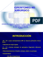 44 Neumoperitoneo No Quirurgico