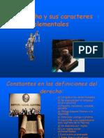 El Derecho y sus caracteres elementales.ppt