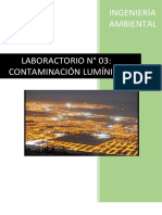 Ambiental Lab 3 Contaminacion Luminica