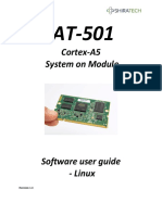 At 501 Linux SW User Manual 1.4