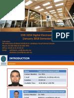 Digital Electronics Jan 2018 Introduction