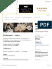 Kähler Villa Dining   Bedste restaurant menu i Aarhus