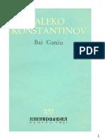 Aleko Konstantinov - Bai Ganiu #1.0~5
