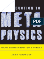 Grondin, Jean - Introduction to Metaphysics. From Parmenides to Levinas