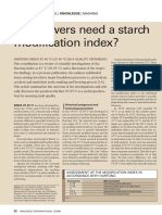 Do brewers need a starch modification index