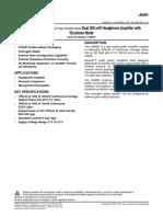 IM4881 Data Sheet