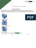Spot Weld Tensile Testing Machine
