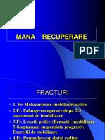 fracturi recp postop