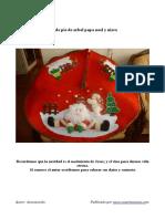 Molde Pie de Arbol y Muñeco de Nieve