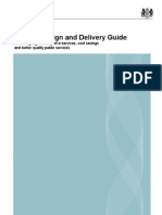 Service Design and Delivery Guideline