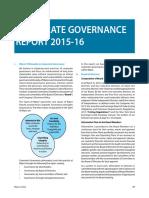 Corporate Governance Report Annualreport 2016