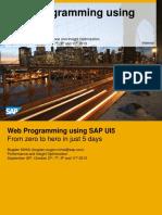 WebProgrammingUsingUI5_Day3