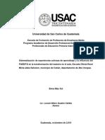 DESARROLLO DE APRENDIZAJE EXITOSO