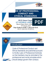 CPD 1 - Code of Professional Conduct & Ethical Standards