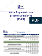 Edital Esquematizado TJ_PR