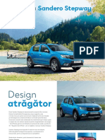 Dacia Sandero Stepway Brosura