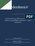 Inclusività nella scuola italiana