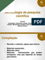 3. Material de Apoio_MetodologiadaPesquisaCientifica_aulas 6 a 11