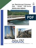 Glass Fiber Reinforced Polymer (GFRP) FIBERGLASS REBAR Aslan100