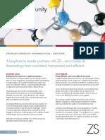ZS Case Study Global Biopharma Forecasting