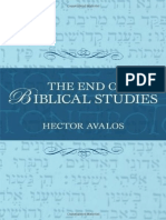 Avalos - The End of Biblical Studies (2007)