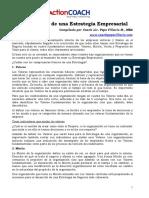 ActionCOACH Los 4 Pilares de Una Estrategia Empresarial