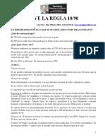 ActionCOACH Vive La Regla 10 y 90