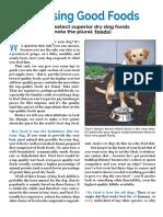 Choosing Dogfood PDF