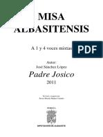 Misa, P. Josico