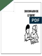 Diccionario de Qeqchi