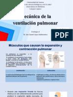 Mecánica de La Ventilación Pulmonar