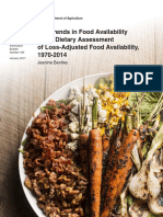 ERS Report on Food Consumption 1970 to 2014