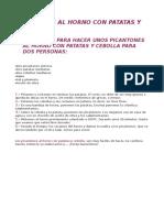Picantones Al Horno