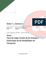 S9 VentajasDesventajas ModalidadesDeTransporte AllanBonilla 31321107