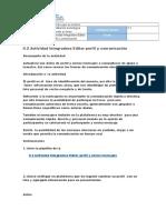 0.2 Actividad Integradora Editar Perfil y Comunicación. Manuel Silva