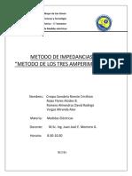 5) Medida de Impedancia - Metodo de Los Tres Amperimetros