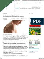 62 Jeitos Legais de Perder Peso Já! _ Nutrição _ Revista Men's Health