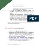 Temario de Lecturas Para Extra de Psicolinguistica y Analisis Del Discurso