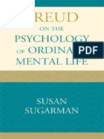 Freud on the Psychology of Ordinary Mental Life