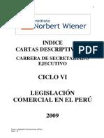 LEGISLACIÓN COMERCIAL EN EL PERÚ