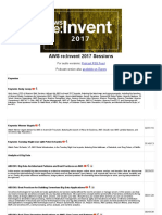 AWS Re_Invent 2017 Sessions & Podcast Feed