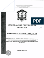 DIRECTIVA N° 01 - 2016 - MPH-24.28