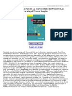 Leer Y Redactar en La Universidad Del Caos de Las Ideas Al Texto Estructurado 85628158