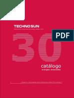 TECHNO SUN Catalogo Productos Energia Solar
