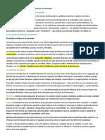 Resumen 1er Parcial (Epic y Libro) - Economía